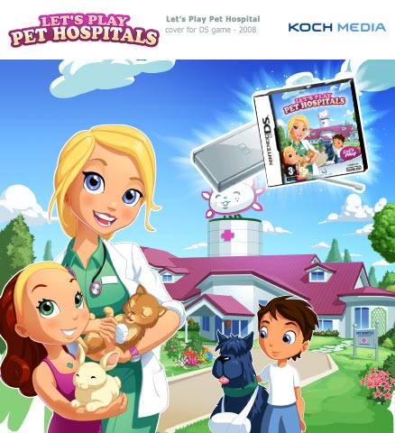 let's play pet hospital